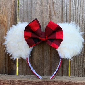 Two Christmas Minnie Ears for @Marissahewtty